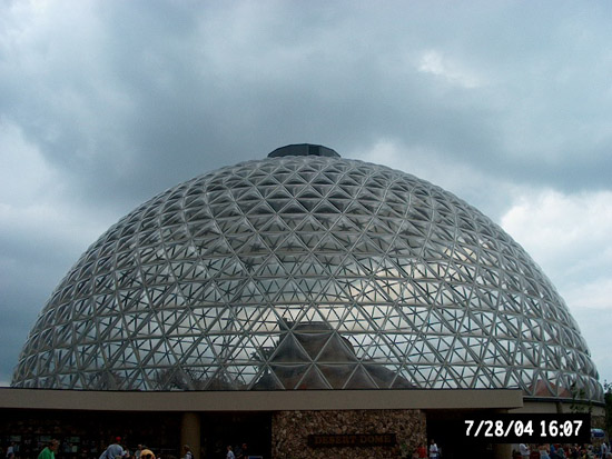 This is a geodesic dome